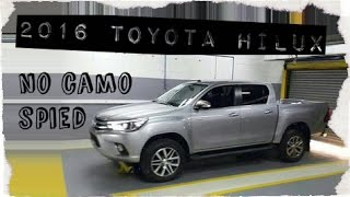 2016 Toyota Hilux Pickup Truck, spied completely with no camo [exclusive]