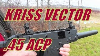 KRISS Vector CRB - Tomorrow's Tommy Gun