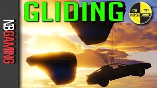 GTA 5 - Gliding - San Andreas Test Dummies Ep. 79 - GTA 5 Funny Moments
