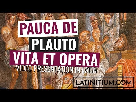 The life and works of Plautus | Learn Latin | #4