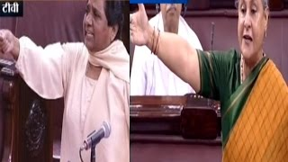 Mayawati vs Jaya Bachchan Debate In Rajya Sabha over Rapes in UP   Parliament Session