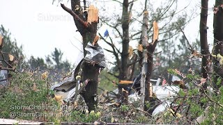 Barron County, WI Storm Damage and Storm B-Roll - 5/16/2017