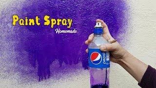 How to Make Simple Air Paint Spray Gun - Homemade