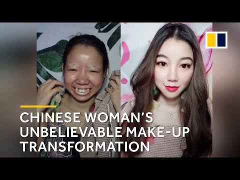 Xxx Mp4 Chinese Woman's Unbelievable Make Up Transformation 3gp Sex