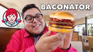 Wendy's Baconator - Fast Food Review - Full Nelson Eats A Lot