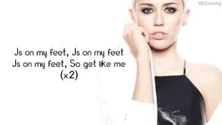 23 by Miley Cyrus ft Wiz Khalifa & Juicy J  Lyrics