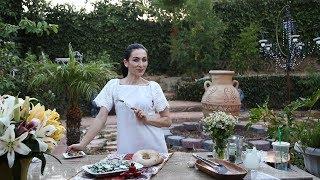 Purslane Cucumber Salad Recipe - Armenian Cuisine - Heghineh Cooking Show