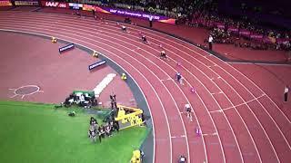 Great Britain wins 4x100m Relay Men Final IAAF World Champs London 2017
