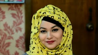 Front twist hijab tutorial | BM Fashion Online shoppe | #2