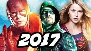 The Flash Season 4 Arrow Supergirl 4 Night Crossover Details