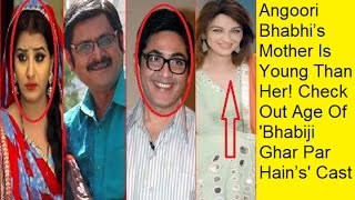 Angoori Bhabhi's Mother Is Young Than Her! Check Out Age Of 'Bhabiji Ghar Par Hain's' Cast