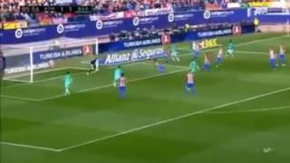 هدف  لونيل ميسي برشلونة الثاني علي اتليتكو مدريد اليوم 26 2 2017  حصرياً