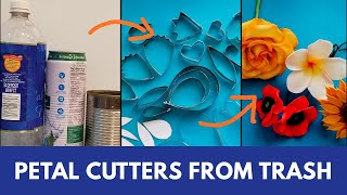 Petal Cutters From Trash for Flower making/Plumeria Flower/DIY Flower Cutters