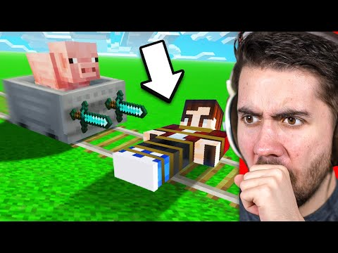 Testing Minecraft 2000IQ Traps To See If They Work