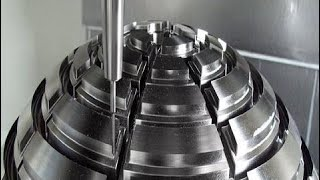 Heavy Equipment Technique Milling Machine Cut Compilation, Extreme Mega CNC Machine Turning #ALN