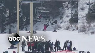 Mom recalls 'fear' of watching daughter dangle from ski lift