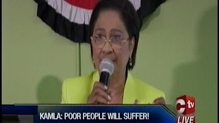Property Tax Or Poverty Tax? Kamla Says Poor People Will Suffer