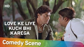Johnny Lever Comedy Scenes - Love Ke Liye Kuch Bhi Karega - Shemaroo Bollywood Comedy