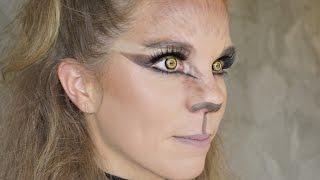 Brittany Layne: Werewolf Halloween Makeup Tutorial