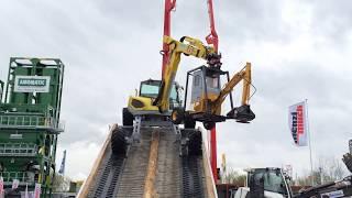 Amazing Menzi Muck M545 All Terrain Excavator Show - Bauma 2016