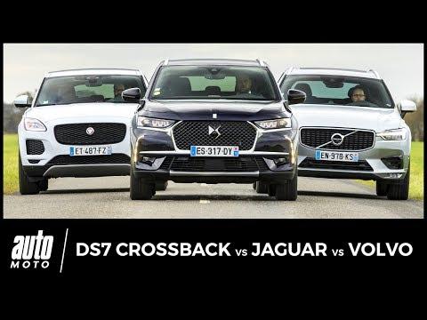 DS7 Crossback vs Jaguar E Pace vs Volvo XC60