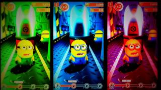 Minions Rush Learn Colors Reaction for KIDS TODDLERS BABY & CHILDREN 2017 MINIONS MOVIE