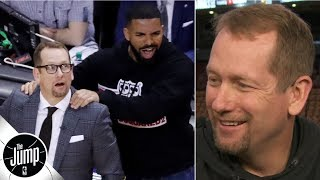 Nick Nurse talks about the Drake massage moment | The Jump