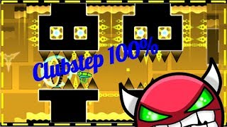 Clubstep 100% - Geometry Dash - MathGenius362 YT