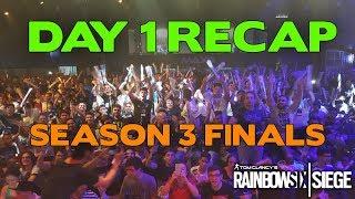 Day 1 Recap and Analysis || Rainbow Six Siege Pro League Season 3 Finals
