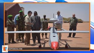 U.S. donate Aerial Surveillance System to AMISOM
