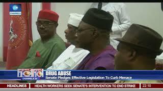 Senate Pledges Effective Legislation To Curb Drug Abuse