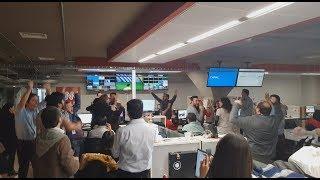 CNN Chile en el momento en que tapa Bravo y