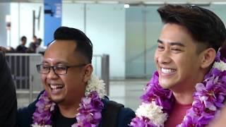 #TEAMMALAYSIA DIGANGGU AIRPORT ANNOUNCER #DAcademyAsia3 ,16102017 [FULL HD]
