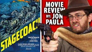 Stagecoach (John Wayne) -- Movie Review #JPMN