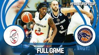 Szolnoki Olaj (HUN) v Tsmoki-Minsk (BLR) - Full Game - FIBA Europe Cup 2017-18