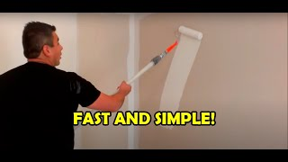 How to paint a room in 10 minutes
