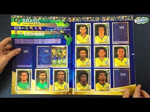 Unboxing Billiken Copa América Centenario Panini #13