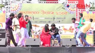 Bangladesh Festival Song | Tikatulir More Ekta Hall Royeche | KoreaBashi