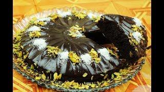 كيك الشوكولاته الاسفنجية بصلصة الشوكولاتة كيكة ال7 ملاعق بالشوكولاته مع رباح محمد ( الحلقة 532 )
