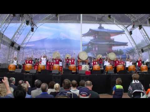 Aun Yamato Taiko Drumming School@ Japan Festival Amstelveen