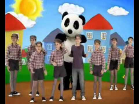 Panda vai à escola 4 Soco bate e vira