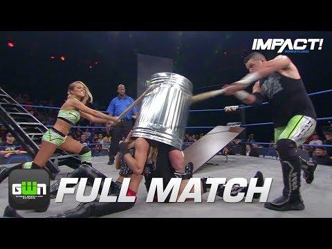 Eddie & Alisha Edwards vs Davey Richards & Angelina Love: FULL MATCH (Slammiversary 2017)