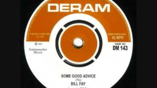 Bill Fay-Some Good Advice