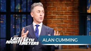 Alan Cumming on Getting Naked for His Album Cover - Late Night with Seth Meyers