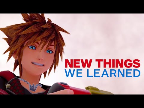 Xxx Mp4 5 New Things We Learned About Kingdom Hearts 3 3gp Sex