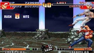 Tips vs Bosses Terry vs Orochi KOF 97 1