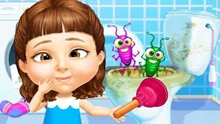Sweet Baby Girl Cleanup 5 - Messy House Makeover - Fun Cleaning Games For Girls By TutoTOONS
