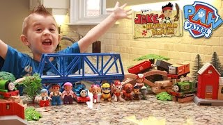 JAKE AND THE NEVER LAND PIRATES Full Episodes with PAW PATROL & TRAINS by Epic Toy Adventure