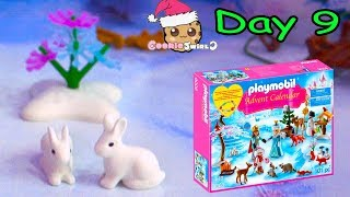 Playmobil Holiday Christmas Advent Calendar Day 9 Cookie Swirl C Toy Surprise Video