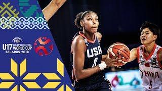 LIVE 🔴- China v USA - FIBA U17 Women's Basketball World Cup 2018